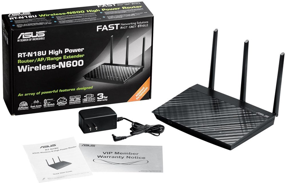 WIRELESS ACCESS POINT ASUS RT-N18U