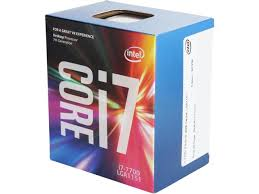 CPU Intel® Core™ i7-7700 Processor