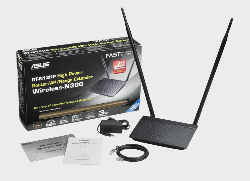 WIRELESS ACCESS POINT ASUS RT-N12Hp