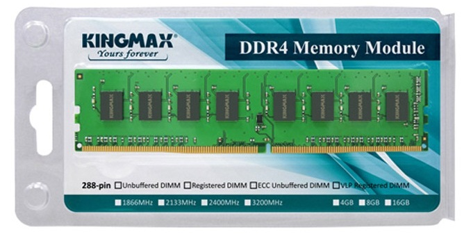 4GB DDR 4  2400 KINGMAX