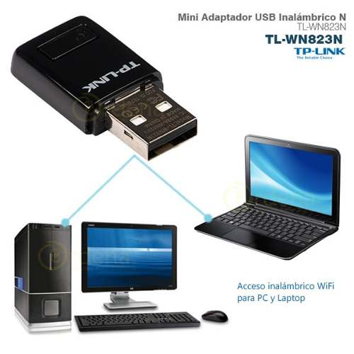 WIRELESS LAN TP-LINK USB WN823N