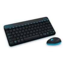 KEY+MOUSE WIRELESS LOGITECH MK240(den, trang)
