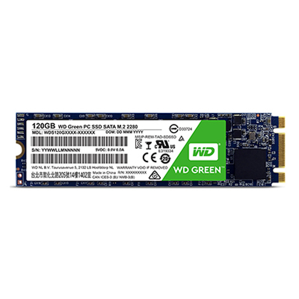 120GB WD M2(GREEN)