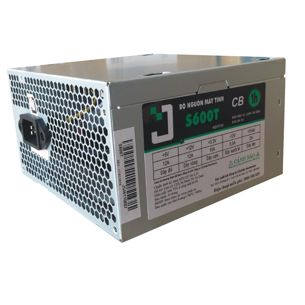 S600T /24 Pin Jetek (Fan 12)