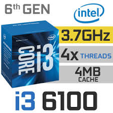CPU Intel® Core™ i3-6100 Processor