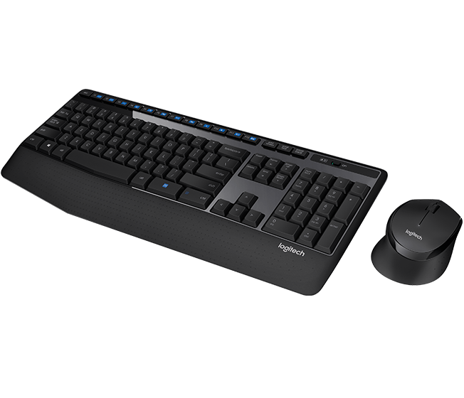 KEY+MOUSE WIRELESS LOGITECH MK345