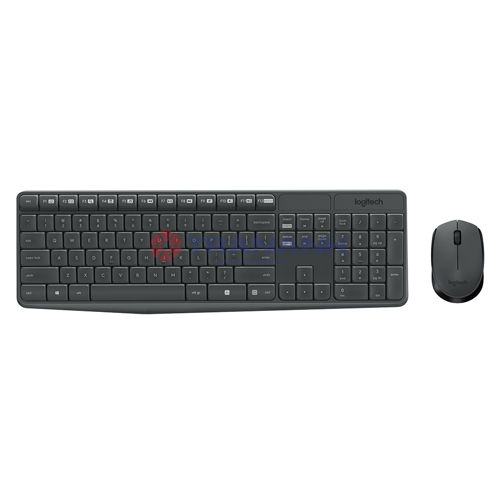 KEY+MOUSE WIRELESS LOGITECH MK235